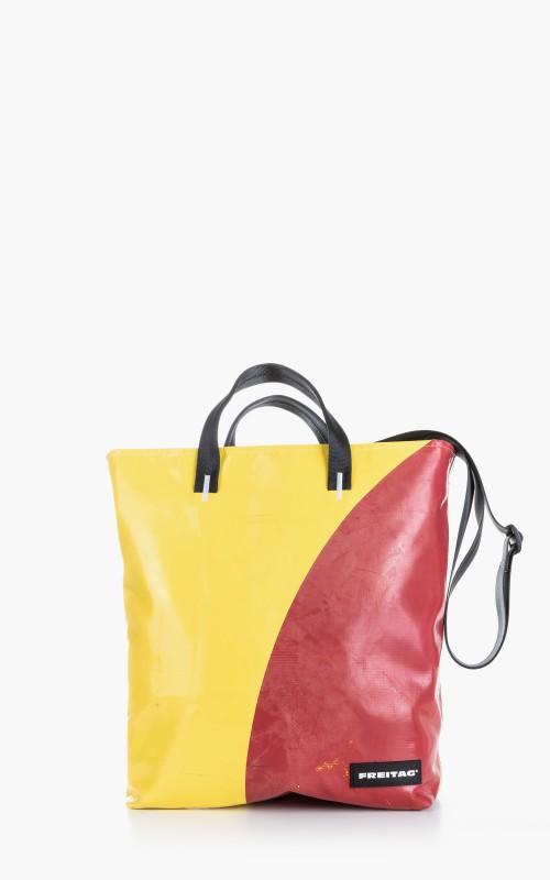 Freitag F203 Bob Tote Bag Yellow 5-1