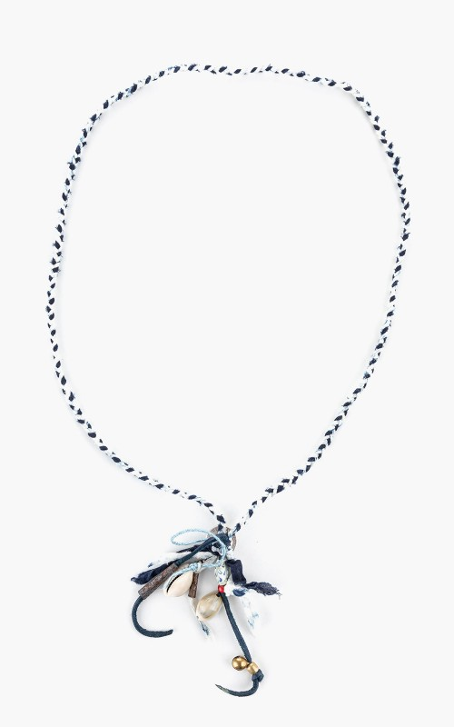 North Works S-005 Necklace Braided Beads