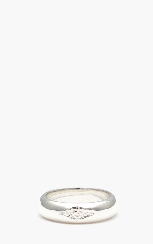 First Arrows R-084 Semicylindrical Mark Carving Ring
