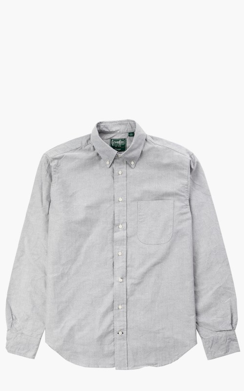 Gitman Vintage GV02 Revised Body Sport Shirt Light Grey