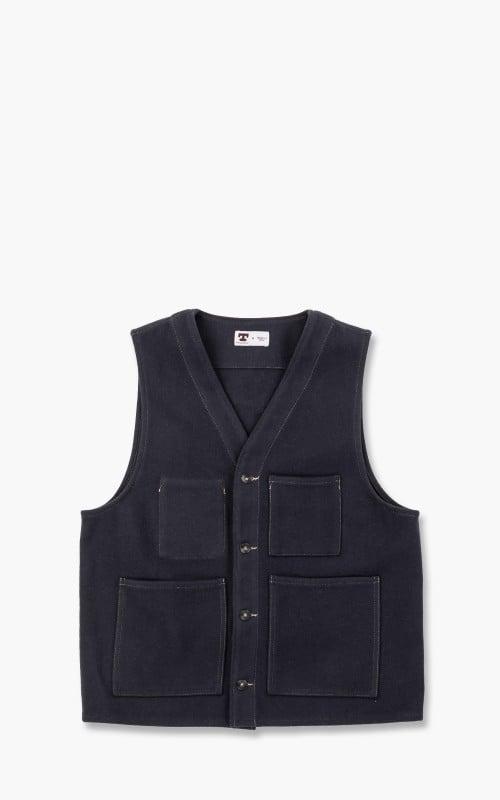 Tellason JK Vest Wool Navy