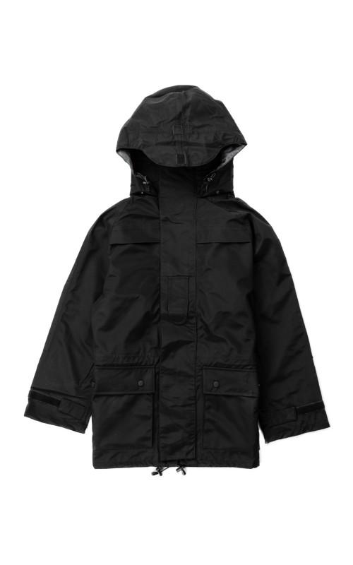 Military Surplus German Army Rain Jacket Black