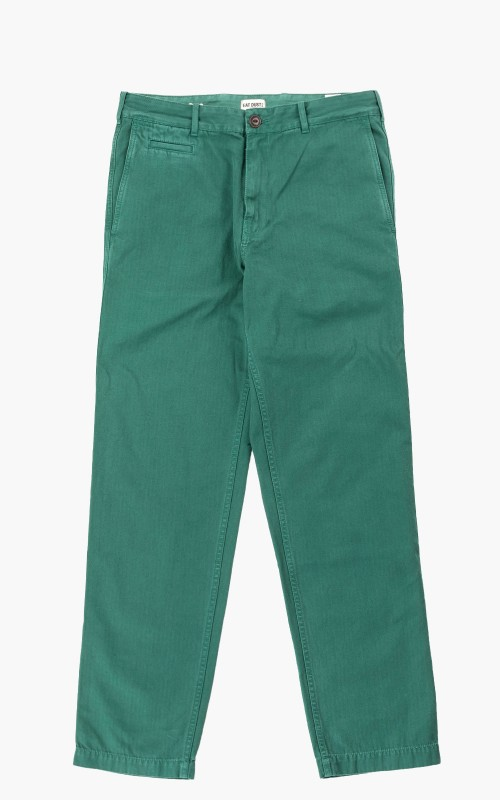 Eat Dust HBT Service Chino Pants Ivy Green