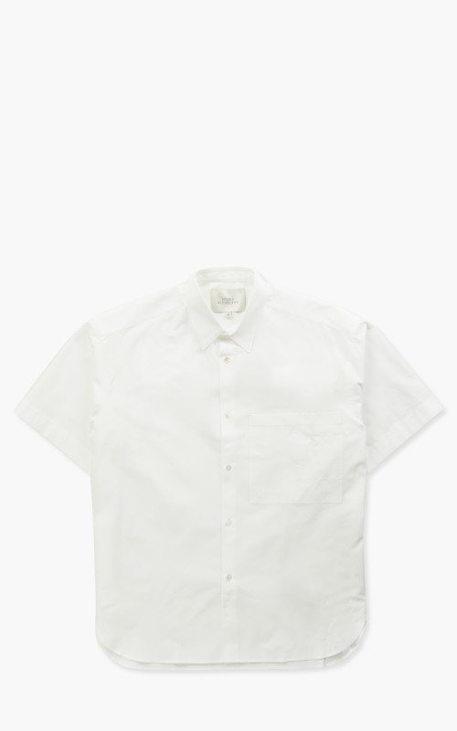 Studio Nicholson Sorono Short Sleeve Shirt Optic White