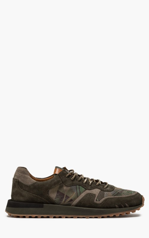 Buttero B8811 Futura Taupe/Olive/Floral