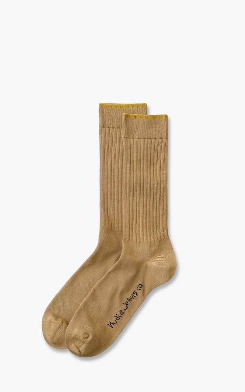 Nudie Jeans Gunnarsson Socks Oat