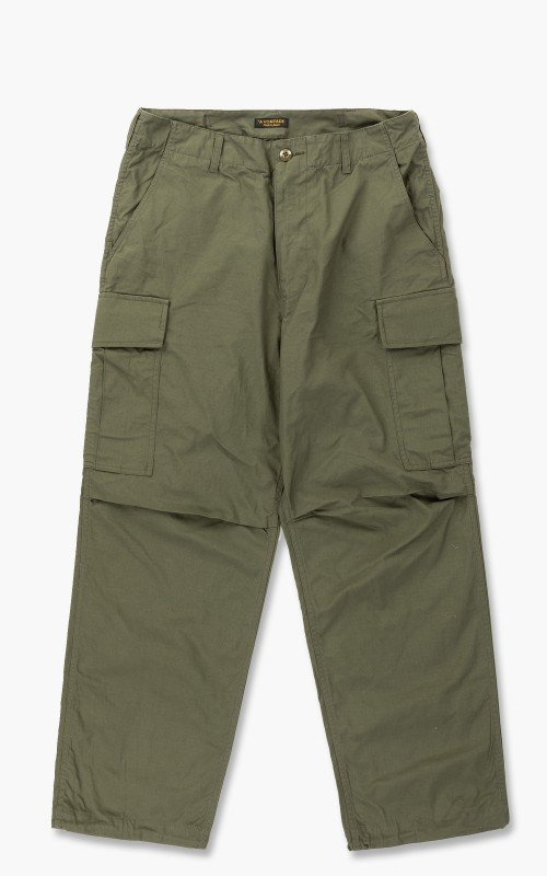 A Vontade Jungle Fatigue Trousers Olive