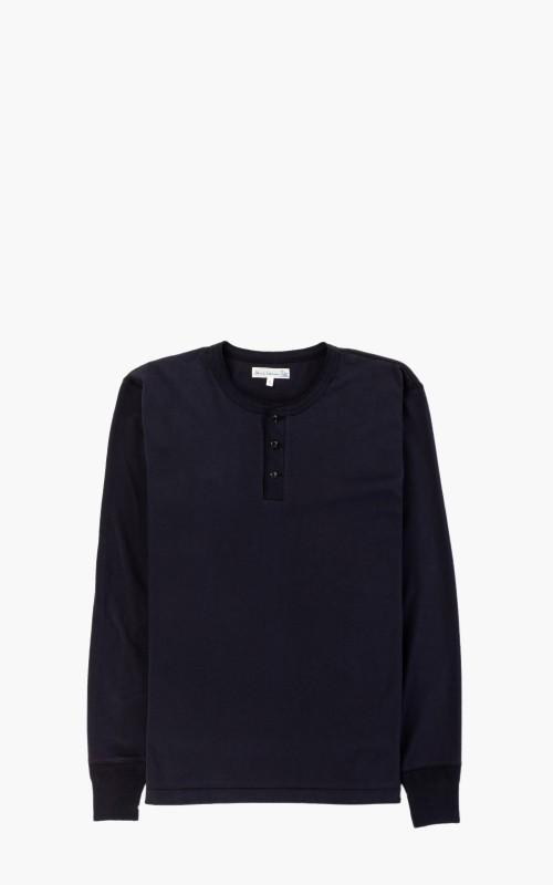 Merz b. Schwanen 204 Button Shirt 1/1 Night Blue