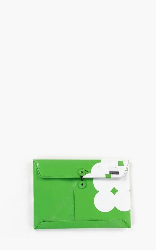 "Freitag F411 Sleeve Padded Laptop Envelope 13"" Green 6-2"