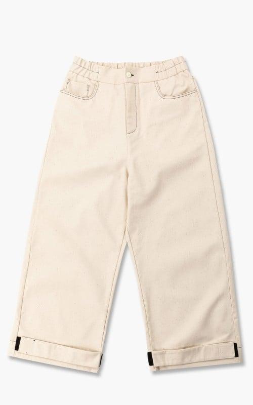 Sunnei Elastic Fitloose Pants Off White