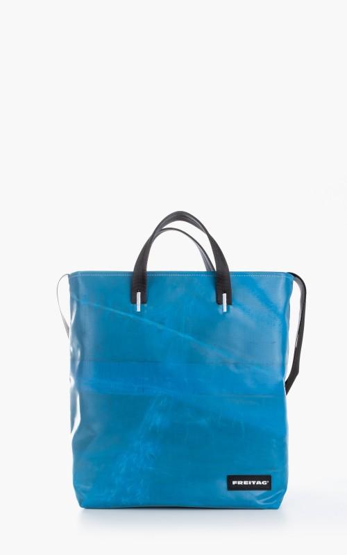 Freitag F203 Bob Tote Bag Blue 6-7