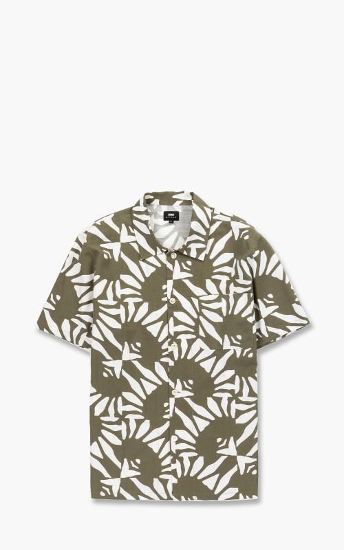 Edwin Hanakotoba SS Shirt AOP Garment Dyed