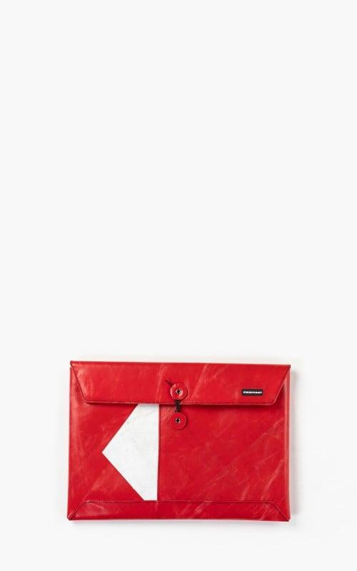 "Freitag F411 Sleeve Padded Laptop Envelope 13"" Red 6-3"