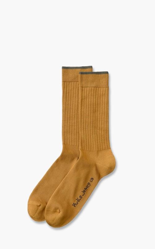 Nudie Jeans Gunnarsson Socks Cinnamon