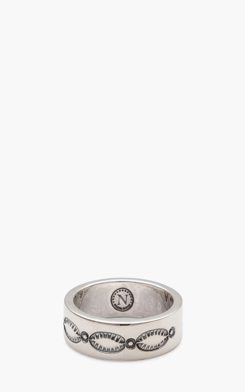 North Works W-321E Ring 900 Silver Indian