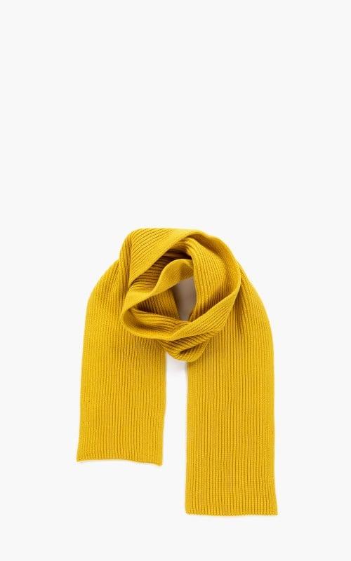 Andersen-Andersen Wide Scarf Yellow