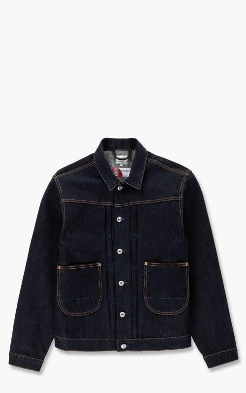 Benzak BDJ-01 Cowboy Jacket Special #4 Deep Indigo Selvedge 18.5oz