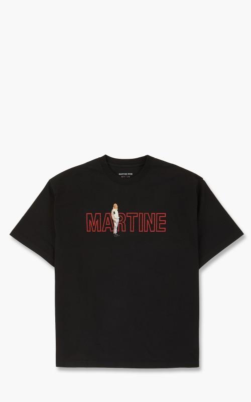 Martine Rose Brittle T-Shirt Black Martine