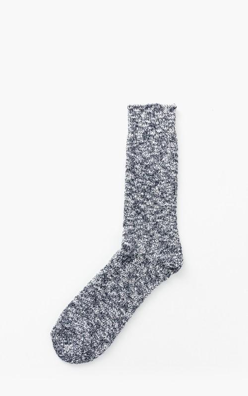 Birkenstock Structured Slub Socks Midnight