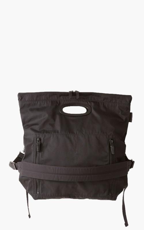 Amiacalva F008 2-Way Paper Bag Black