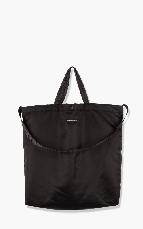 Engineered Garments Carry All Tote Flight Satin Nylon Black
