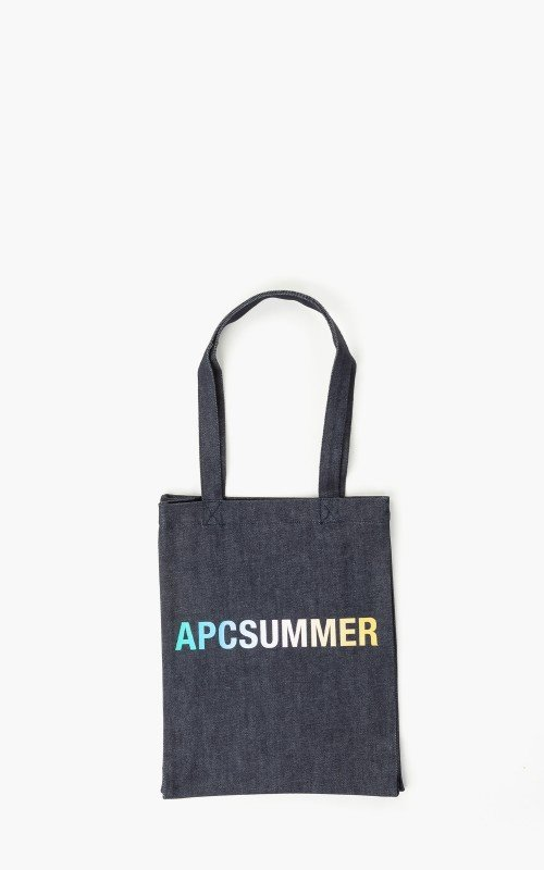 A.P.C. Tote Lou Denim 'APC Summer' Bag Indigo