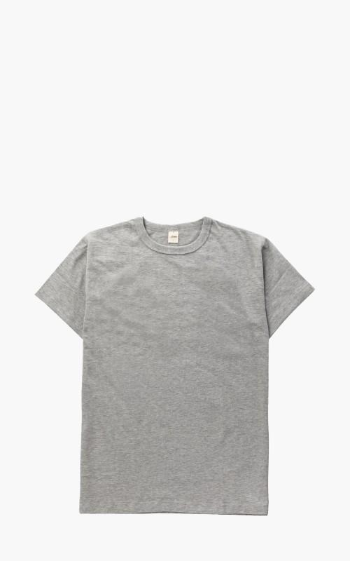 3sixteen Heavyweight Plain Tee 2 Pack Grey