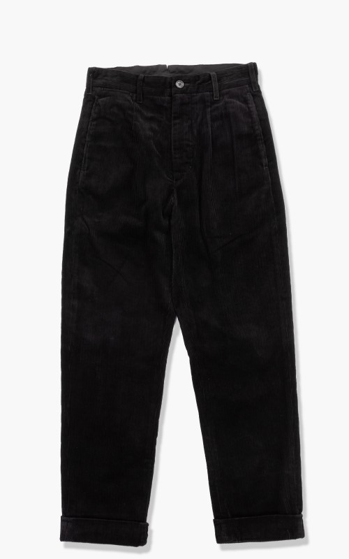 Engineered Garments Andover Pant Corduroy 8 Wale Black