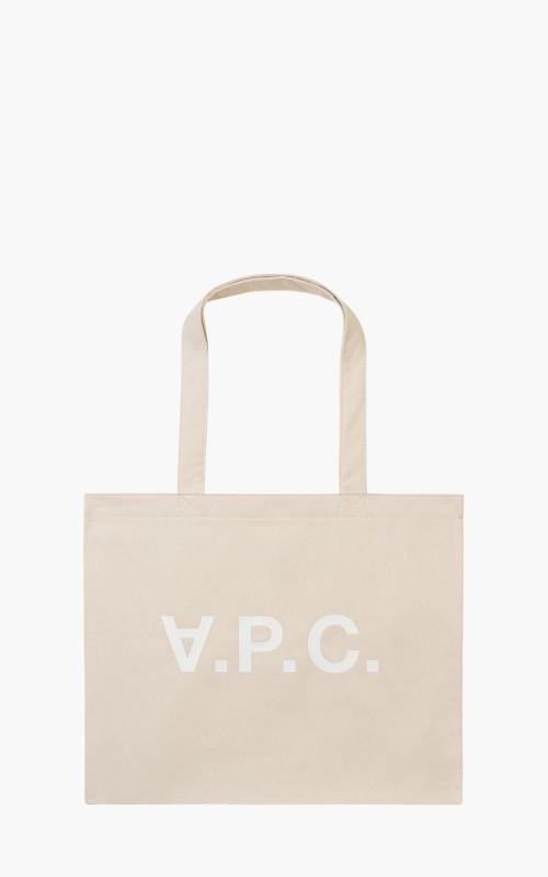 A.P.C. Daniela Shopping Bag Ecru