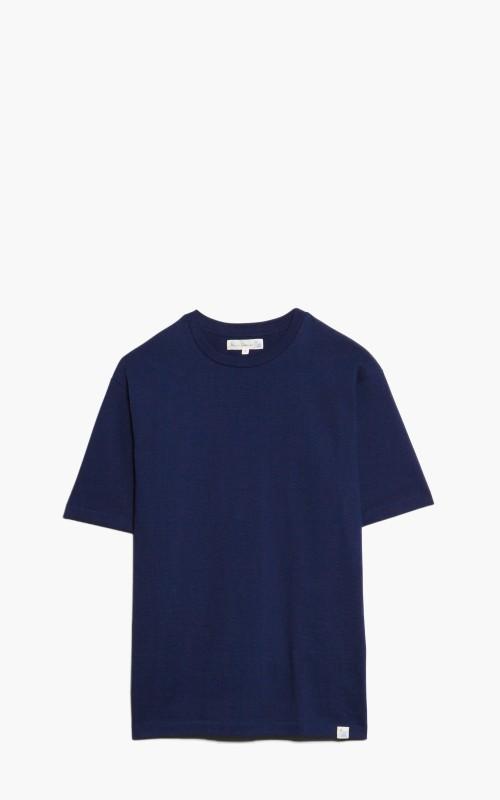 Merz b. Schwanen 218OS Oversized T-Shirt Ink Blue