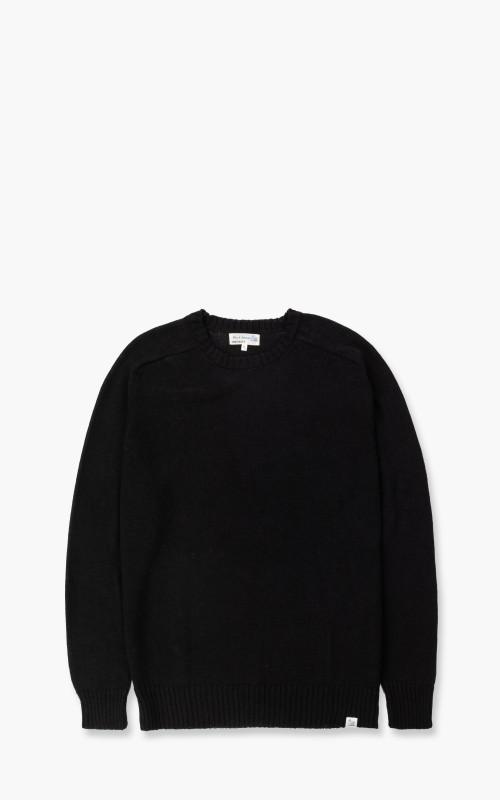 Merz b. Schwanen LMCOS Sweatshirt Oversized Linen/Merino Black