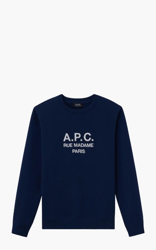 A.P.C. Sweatshirt Rufus Navy
