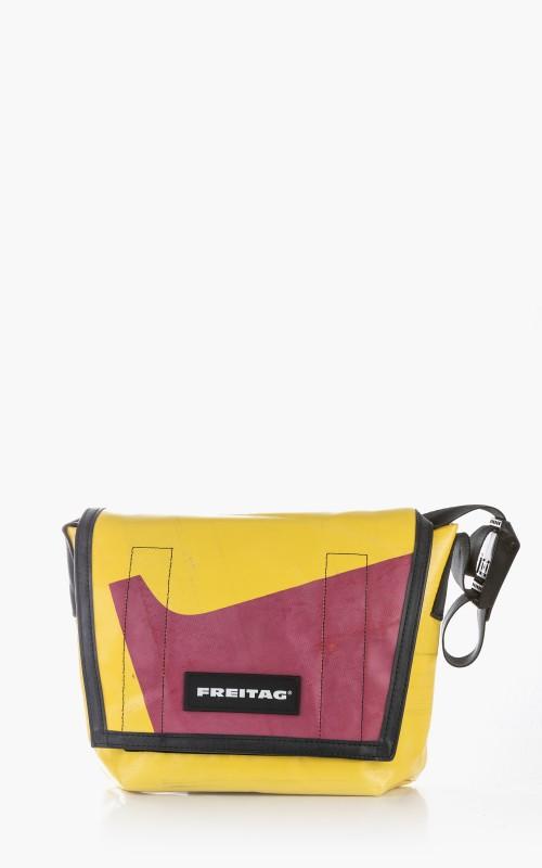 Freitag F11 Lassie Messenger Bag Classic S Yellow 3-2