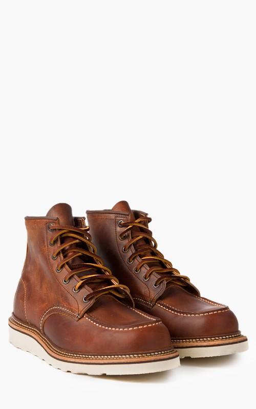 Red Wing Shoes 1907 Moc Toe Copper Rough & Tough