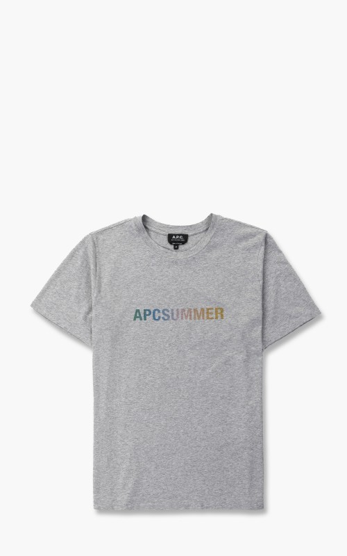 A.P.C. T-Shirt Viktor Grey