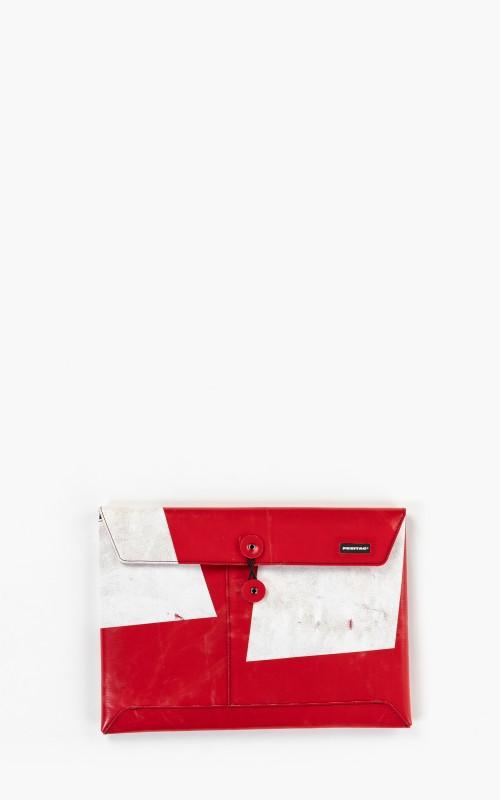 "Freitag F411 Sleeve Padded Laptop Envelope 13"" Red 6-2"