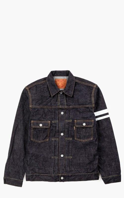 Momotaro Jeans 2105SP Type 2 Denim Jacket Rinsed GTB