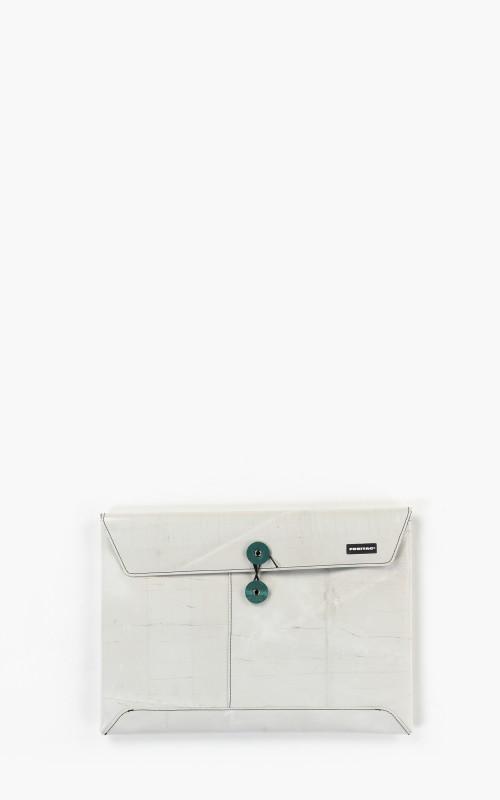 "Freitag F411 Sleeve Padded Laptop Envelope 13"" Silver 6-3"
