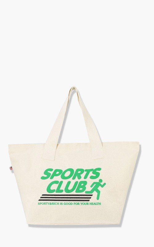 Sporty & Rich Sports Club Tote Natural