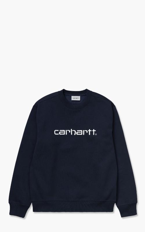 Carhartt WIP Carhartt Sweat Dark Navy/White