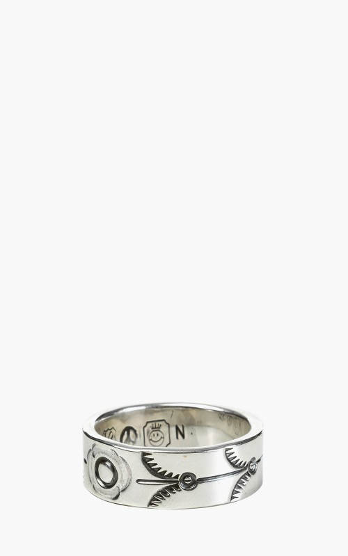 North Works W-022 Ring 900 Silver