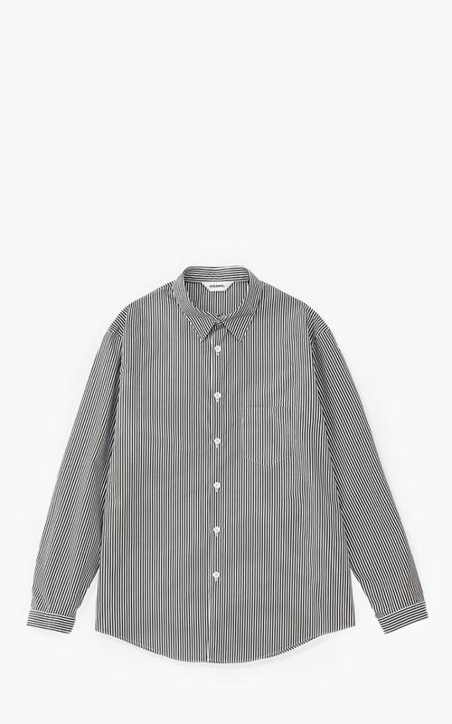 Digawel Stripe Shirt Black