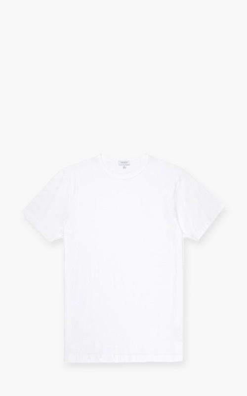 Sunspel Classic Cotton T-Shirt White