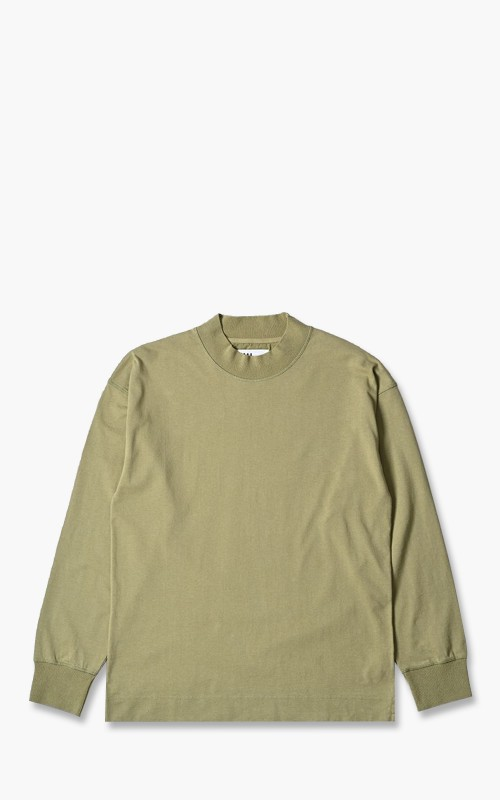 Margaret Howell MHL. Gym Top Matte Jersey/GZZ Sage