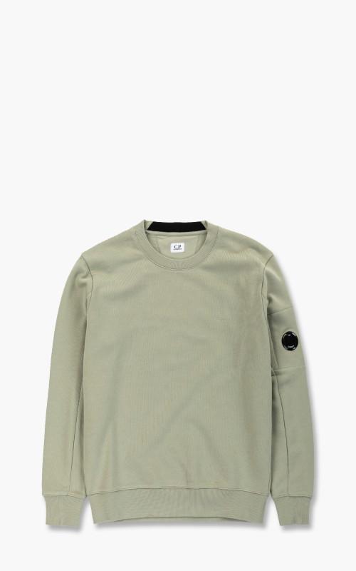 C.P. Company Diagonal Raised Fleece Sweatshirt Tea