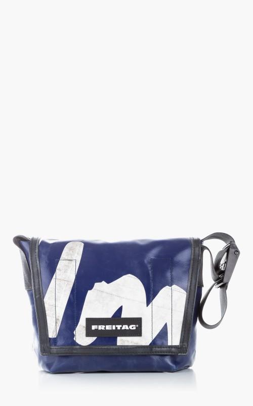 Freitag F11 Lassie Messenger Bag Classic S Blue 6-4