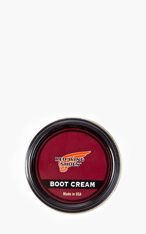 Red Wing Shoes Boot Cream Black   Cultizm