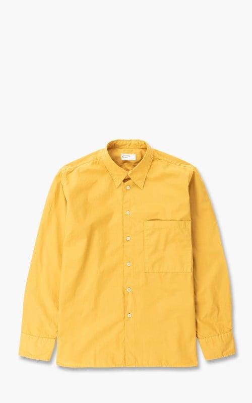 Universal Works Big Pocket Shirt Poplin Gold