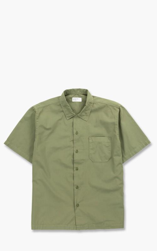 Universal Works Road Shirt Poplin Olive