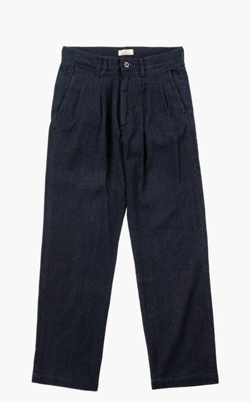 Japan Blue Sashiko Monpe Pant Indigo